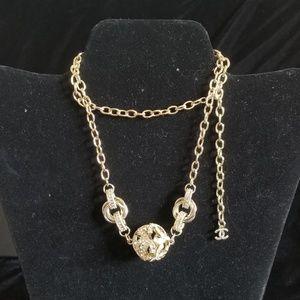 Beautiful CC ball charm Necklace